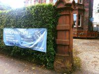 world peace café liverpool entrance